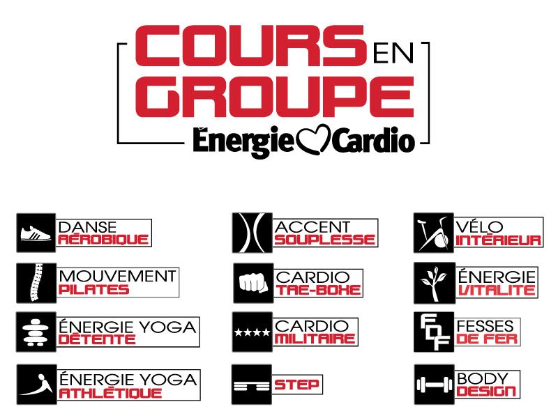 Cours en Groupe – Énergie Cardio