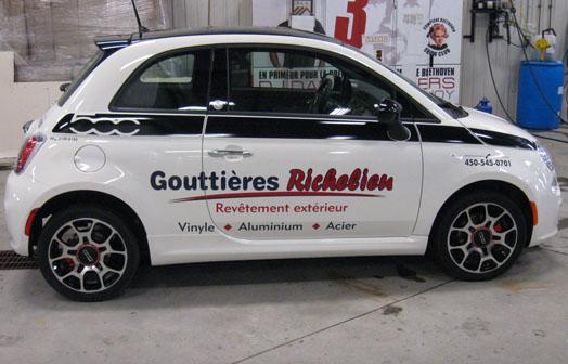 Gouttières Richelieu
